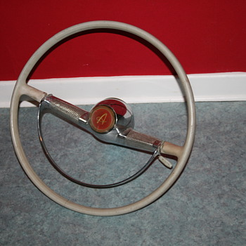 simca aronde steering wheel