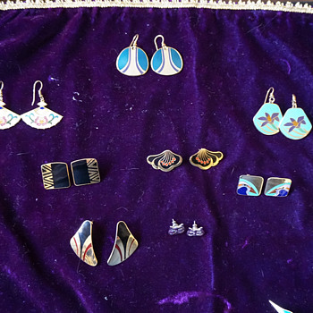 Laurel Birch Earrings & Brooch Collection - Costume Jewelry