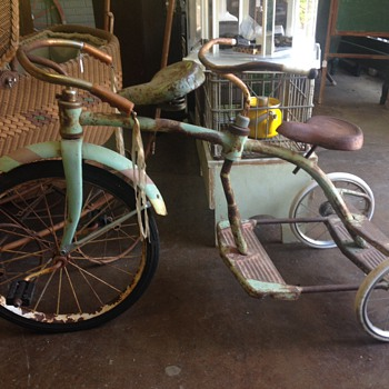 Vintage Tricycles - Sporting Goods