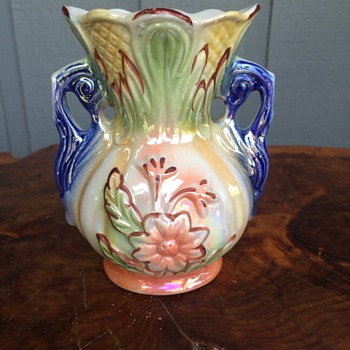 Vase, Made in Brasil, 422, Flower, multi-color