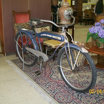 Richmond Harley Bike circa 30'/40's - Sporting Goods