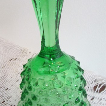 The green is always glassier on the other side - Art Glass
