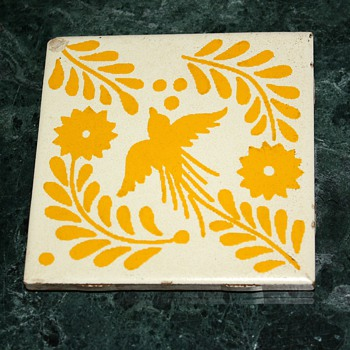 Mexican tile i like. - Art Pottery