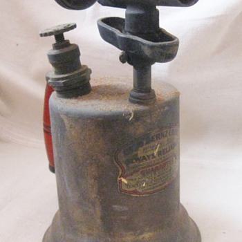 Vintage Otto Bernz Blow Torch Always Reliable Rochester, New York