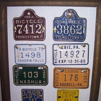Bicycle plates. - Outdoor Sports