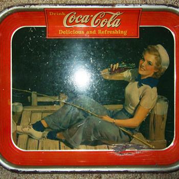 1940 Coca-Cola Tray - Coca-Cola