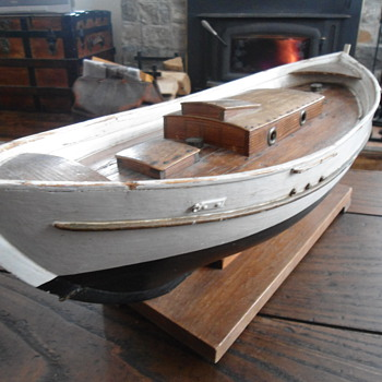 1930's handmade Sailboat
