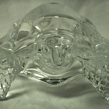 "Turtle ""Cut glass""Mid XX Century - Glassware"