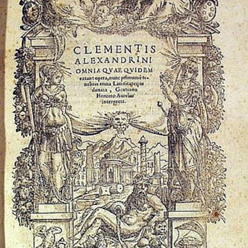Clementis Alexandrini Omnia Quae Quidem Extant Opera - Books