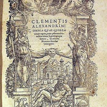 Clementis Alexandrini Omnia Quae Quidem Extant Opera - Books