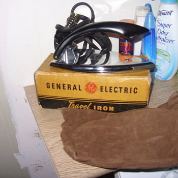 1950s  general electric travel iron new old stock - Tools and Hardware