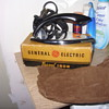 1950s  general electric travel iron new old stock