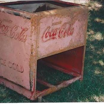 Old Coca Cooler