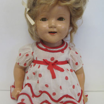 Early Shirley Temple doll? - Dolls