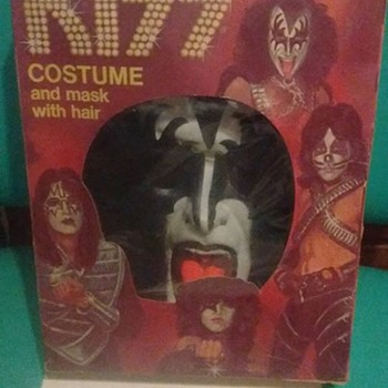1970's Gene Simmons Costume !!!!! - Advertising