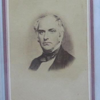 Senator Edward D. Baker, later Col. Baker