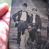 Jesse James And Billy The Kid Tin Picture