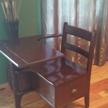 "Antique, Vintage, or ""Inspired""? Child Desk"