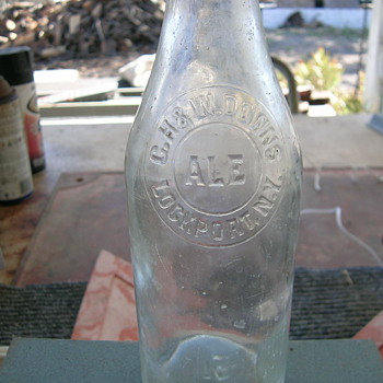 mystery beer bottle