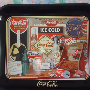 LIMITED EDITION COCA- COLA TRAY - Coca-Cola