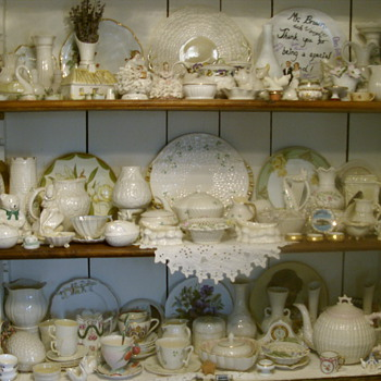 irish bellek and a few other goodies - China and Dinnerware