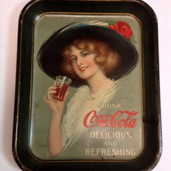 1913 Coca Cola Tray