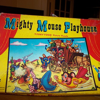 MIGHTY MOUSE PUZZLE