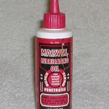 Marvel Lubricating Oil