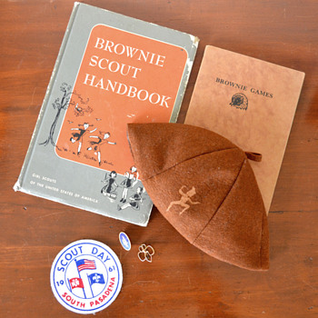 Brownie Scout Memorabilia