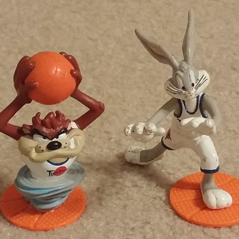 1995 Space Jam Figurines - Toys