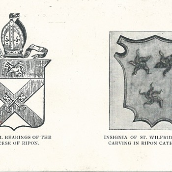 ST WILFRID'S THREE ESTOILES (OR) - Postcards