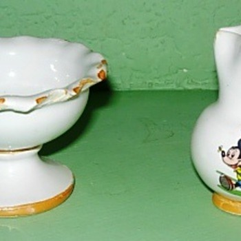 Disney Character Children's Pottery - China and Dinnerware