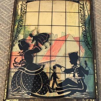 Reverse painting on glass - Visual Art