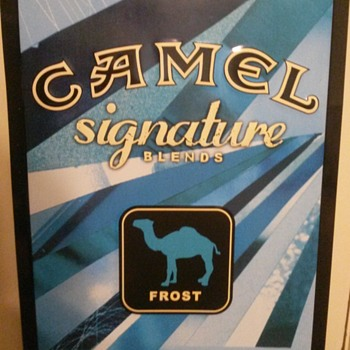 CAMEL Discontinued & Banned - Tobacciana