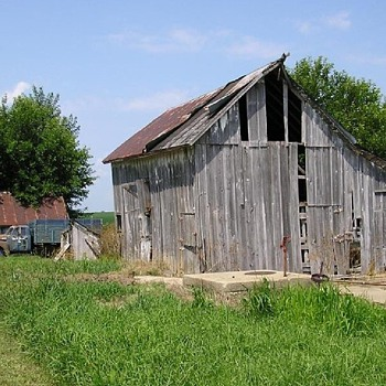 Old Farm Barn and Truck Just South of Me  - Photographs