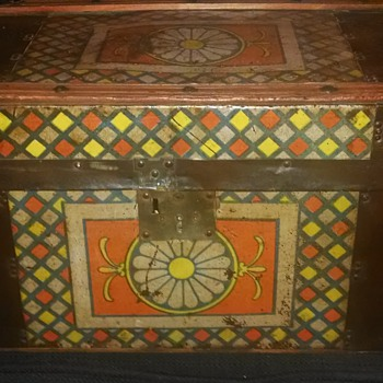 Antique Children's Trunk