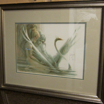 VERY RARE! Saint-Genies  -  Lac des Cygnes (SWAN LAKE)  -  ARTIST PROOF - Posters and Prints