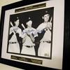 DiMaggio/Mantle/Williams . . . Signed Photo
