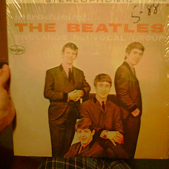 Introducting The Beatles Early LP in plastic - Records
