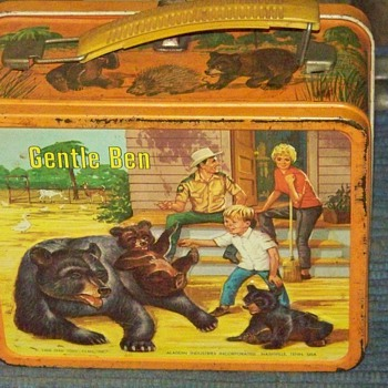Gentle Ben Lunch Box Circa 1971 - Kitchen