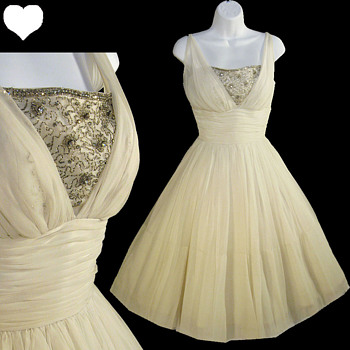 Vintage 1950s Wedding and Party Dresses - Womens Clothing