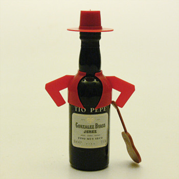 TIO PEPE miniature bottle