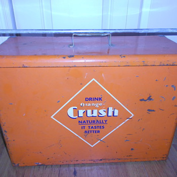Orange Crush Airline Cooler 