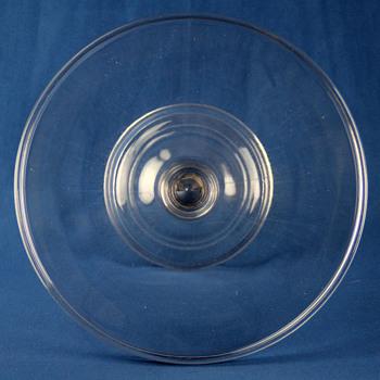 Central Glass Company #544 Plain Cake Stand c1880 - Glassware