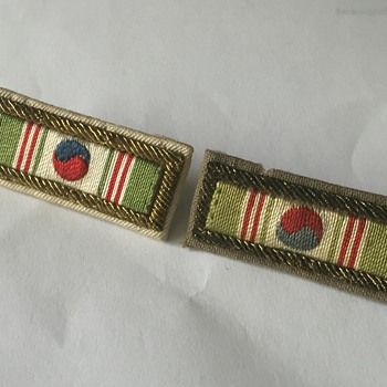 World War 2 Bullion Citation Ribbon Bars
