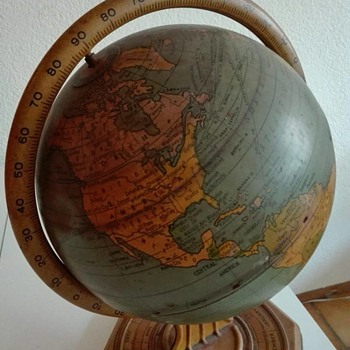 Tin Globe by The Ohio Art Company