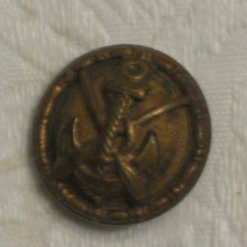 U.S. Coast Guard button - Military and Wartime