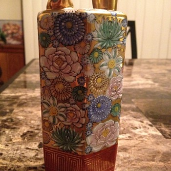 vintage whistling sake decanter - Asian