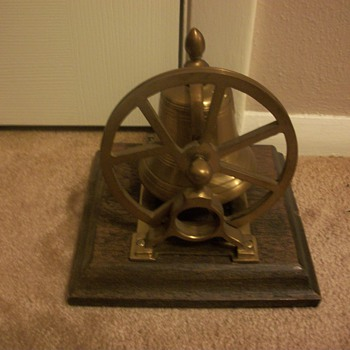 Antique Solid Brass bell.