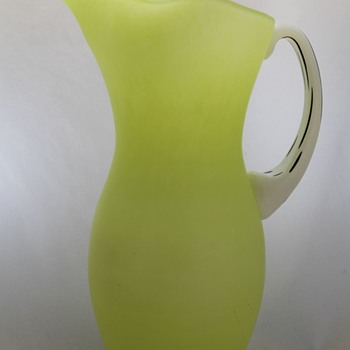 Kosta Boda Amazon pitcher - Art Glass